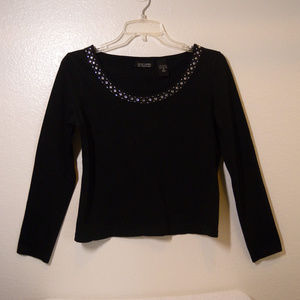 NEW YORK & COMPANY embellished top